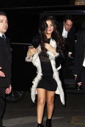 Selena Gomez Night Out Style - Paris, March 2015