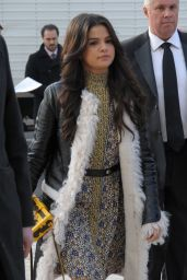 Selena Gomez Style - Louis Vuitton Fashion Show in Paris - March 2015