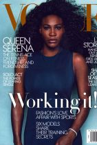 Serena Williams – Vogue Magazine April 2015 Cover and Photo