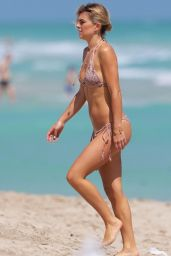 Serinda Swan Bikini Pics - on a Beach in Miami - March 2015