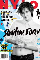 Shailene Woodley - Nylon Magazine April 2015 Issue