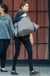 Shailene Woodley - Out in NYC, March 2015