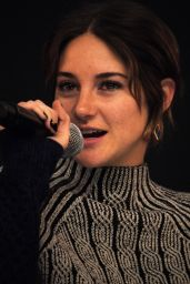 Shailene Woodley - Speaking at the Apple Store in London