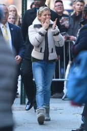 Sienna Miller Street Style - Outside of Cabaret on Broadway in NYC, March 2015