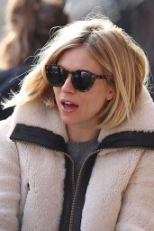 Sienna Miller - Walking Through the West Village - March 2015