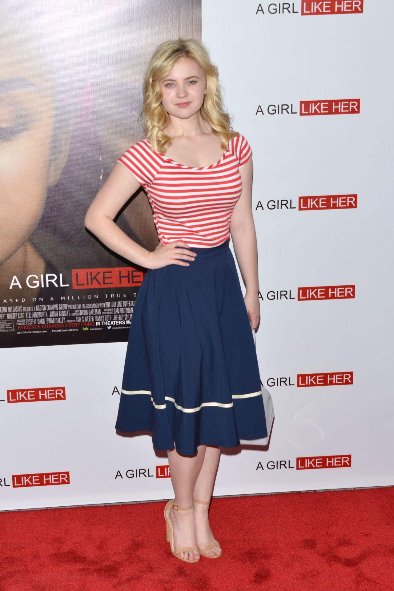 Sierra McCormick - A Girl Like Her Premiere in Los Angeles