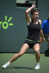 Simona Halep – 2015 Miami Open Tennis Tournament in Key Biscayne – 1st Round