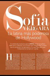 Sofia Vergara - Caras Magazine March 2015 Issue