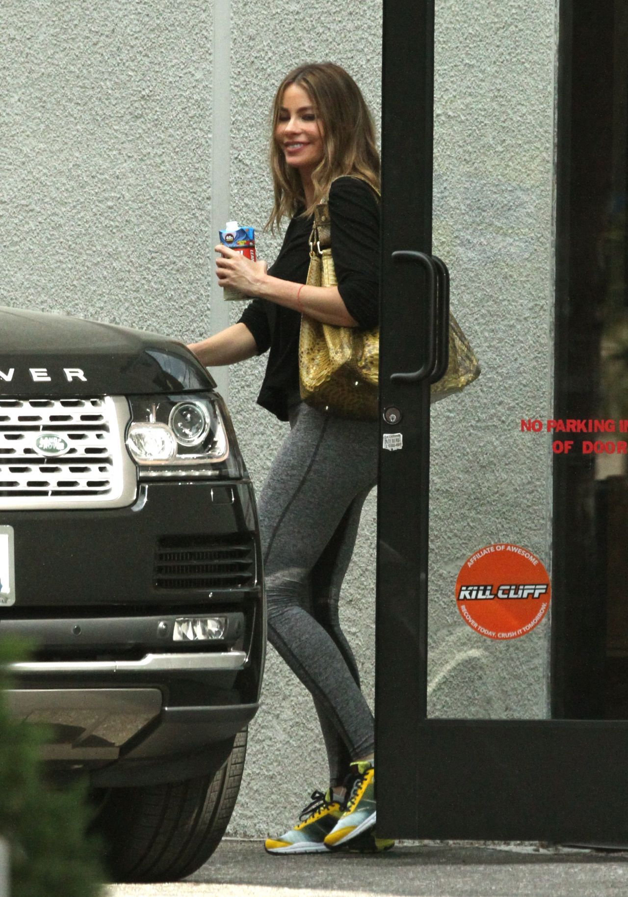 Sofia Vergara - Leaving the Gym in West Hollywood - March 2015