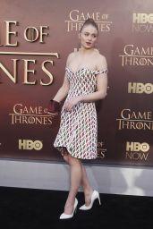 Sophie Turner - Game of Thrones Season 5 Premiere in San Francisco