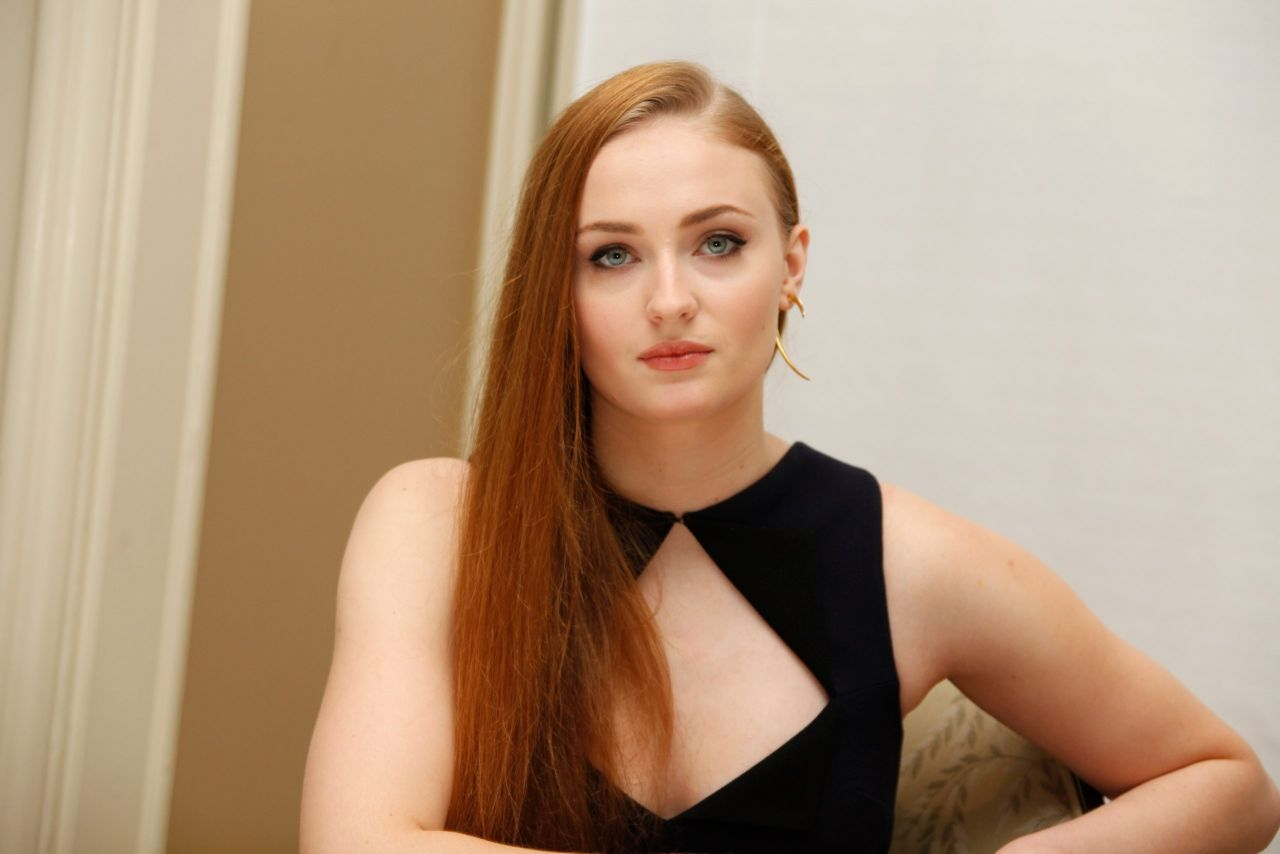 Sophie Turner Game Of Thrones Season 5 Press Conference