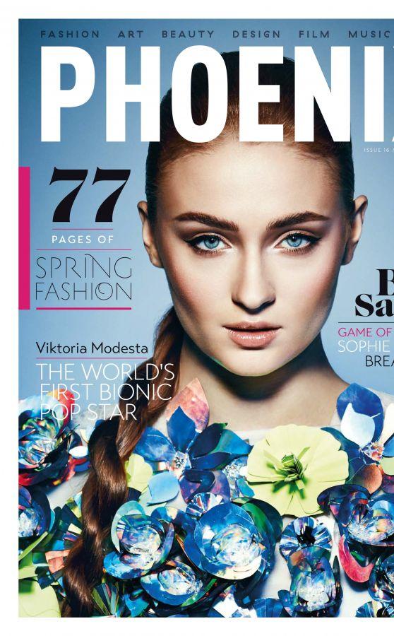 Sophie Turner - Phoenix Magazine (UK) Spring 2015 Issue