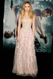 Suki Waterhouse - Insurgent Premiere in New York City