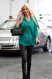 Tara Reid Casual Style - Out for Lunch in Beverly Hills, March 2015