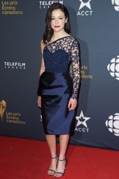 Tatiana Maslany - 2015 Canadian Screen Awards in Toronto
