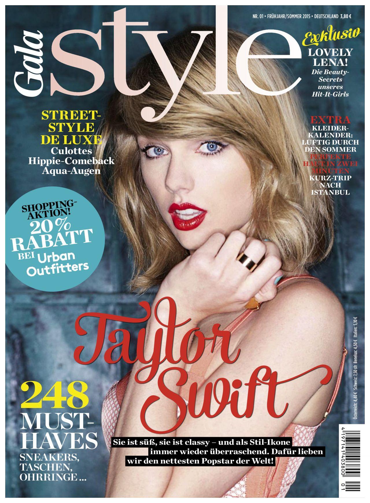 Taylor Swift - Gala Style Magazine Spring Summer 2015
