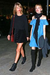 Taylor Swift & Jaime King Night Out Style - Beverly Hills, March 2015