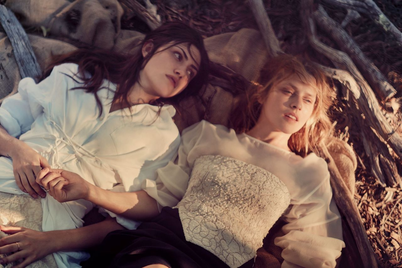 Teresa Palmer & Phoebe Tonkin - Vogue Magazine (Australia) March 2015 Photos