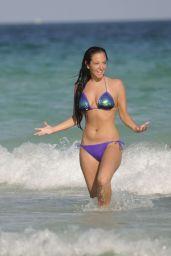 Tulisa Contostavlos Bikini Pics - Miami, February 2015