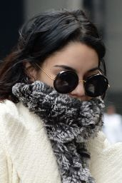 Vanessa Hudgens Arriving at Her Play in New York City, March 2015