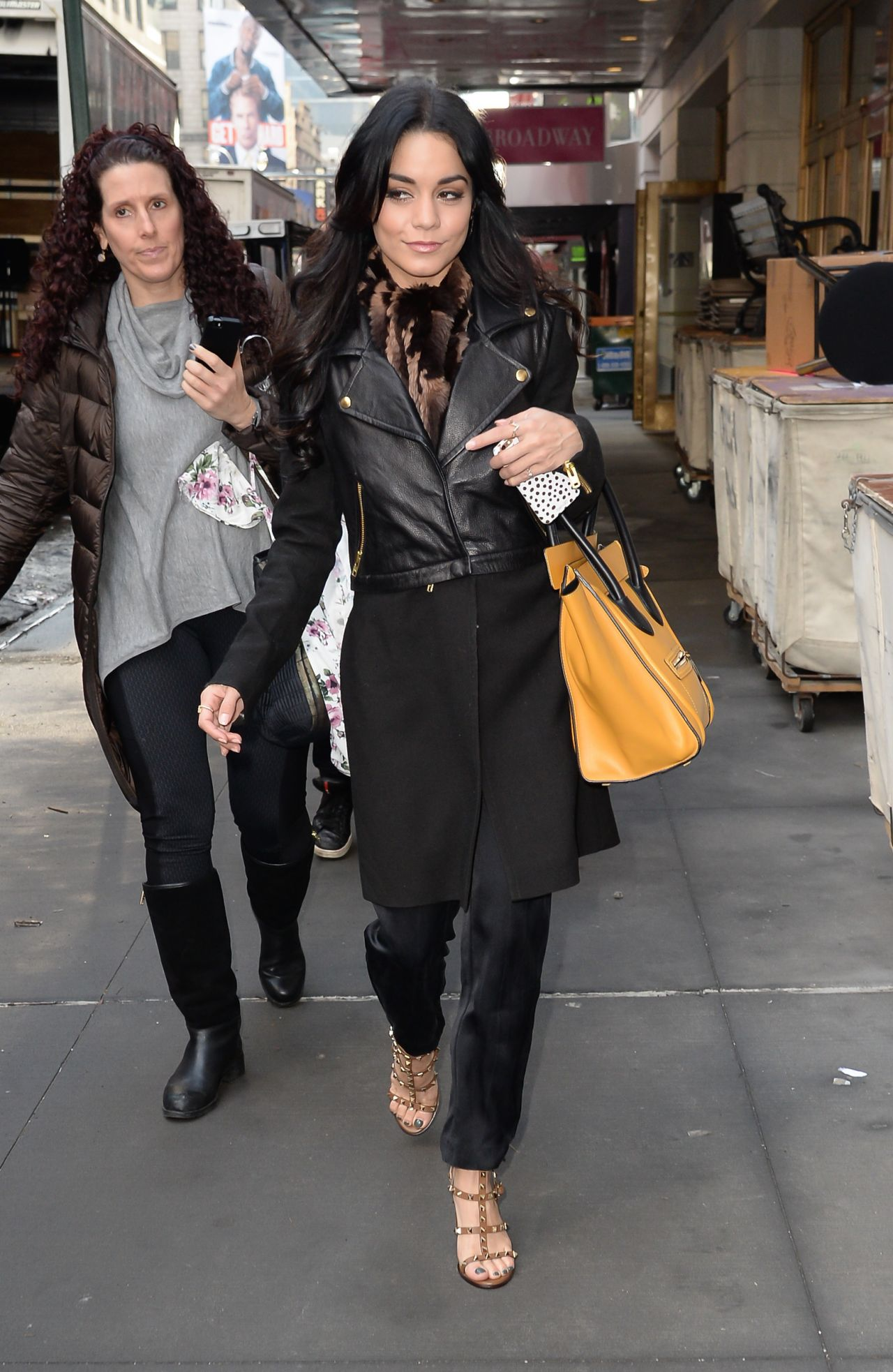 Vanessa Hudgens at the Neil Simon Theatre in New York City, March 2015