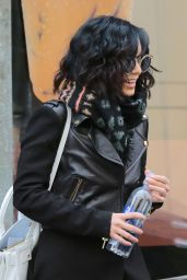 Vanessa Hudgens - Out in New York City, March 2015