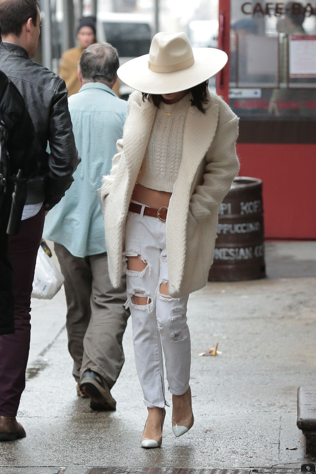 Vanessa Hudgens Out in NYC, March 2015