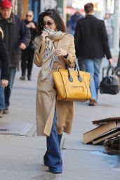 Vanessa Hudgens Running Errands in New York City, March 2015
