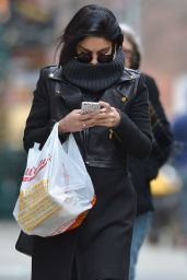 Vanessa Hudgens Street Fashion - Shopping in New York City, March 2015