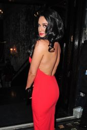 Vicky Pattison Fashion - Cafe De Paris in Central London, February 2015