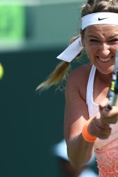 Victoria Azarenka – 2015 Miami Open Tennis Tournament in Key Biscayne – 1st Round