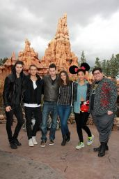 Victoria Justice at Disneyland in Anaheim, March 2015