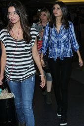 Victoria Justice at LAX Airport, March 2015