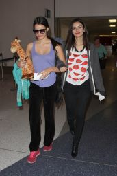 Victoria Justice Chic Street Style - at LAX Airport, March 2015