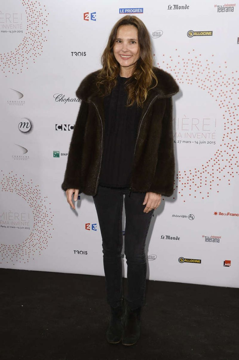 Virginie Ledoyen - The Lumiere Le Cinema Invente Exhibition Preview in Paris, March 2015