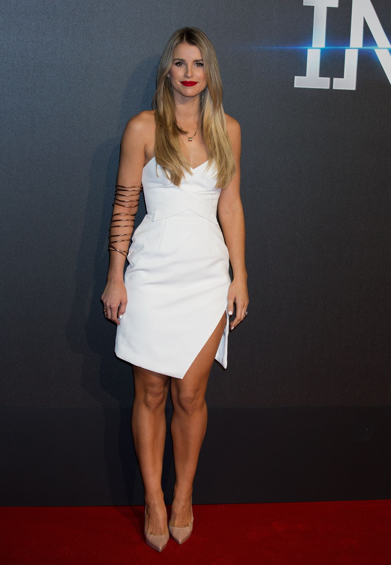 Vogue Williams Insurgent Premiere At Odeon Leicester