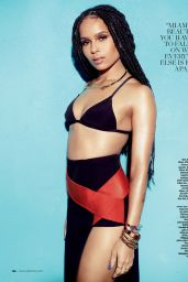 Zoë Kravitz - Ocean Drive Magazine March 2015 Issue