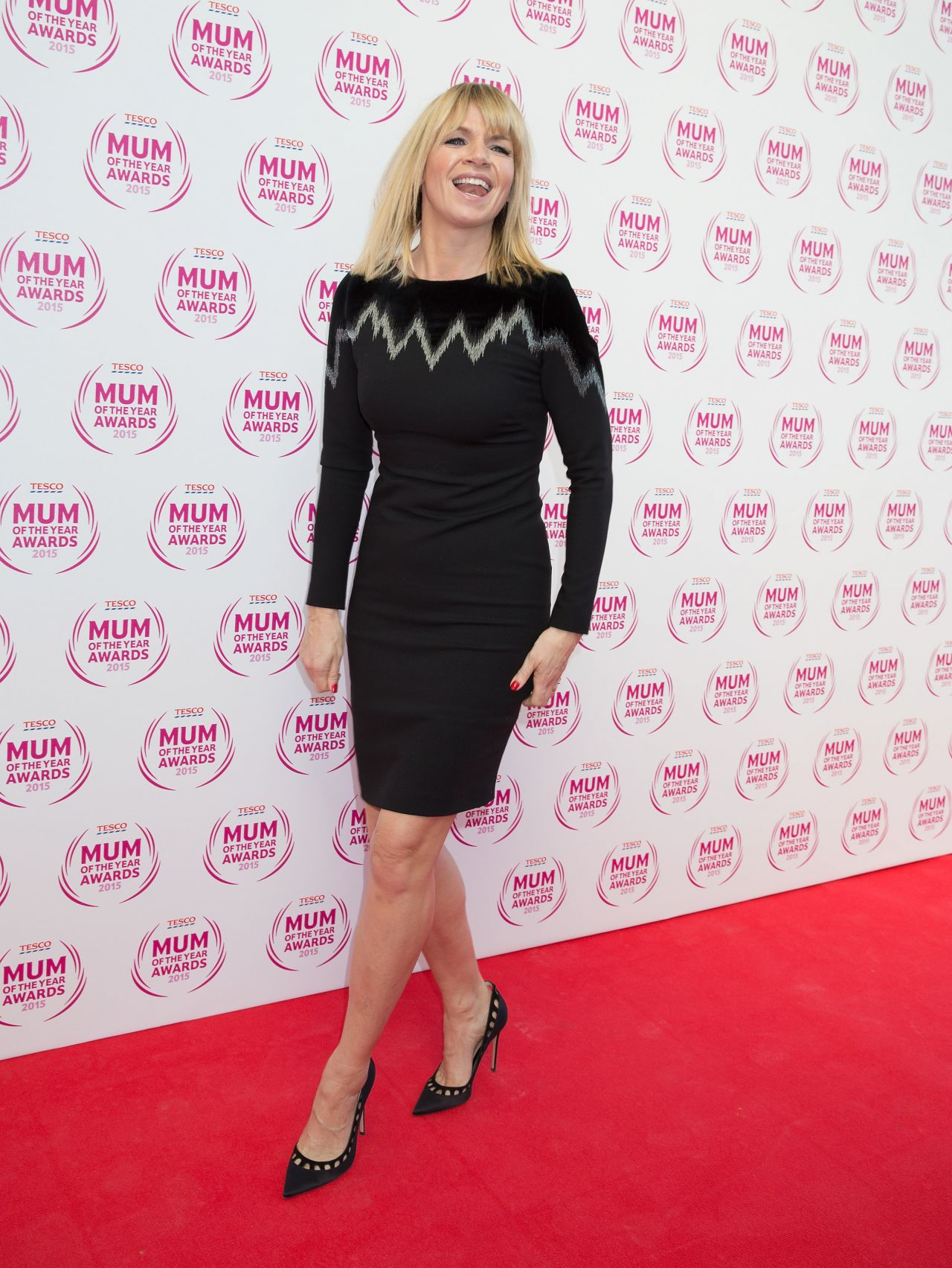 Zoe Ball 2015 Tesco Mum Of The Year Awards In London
