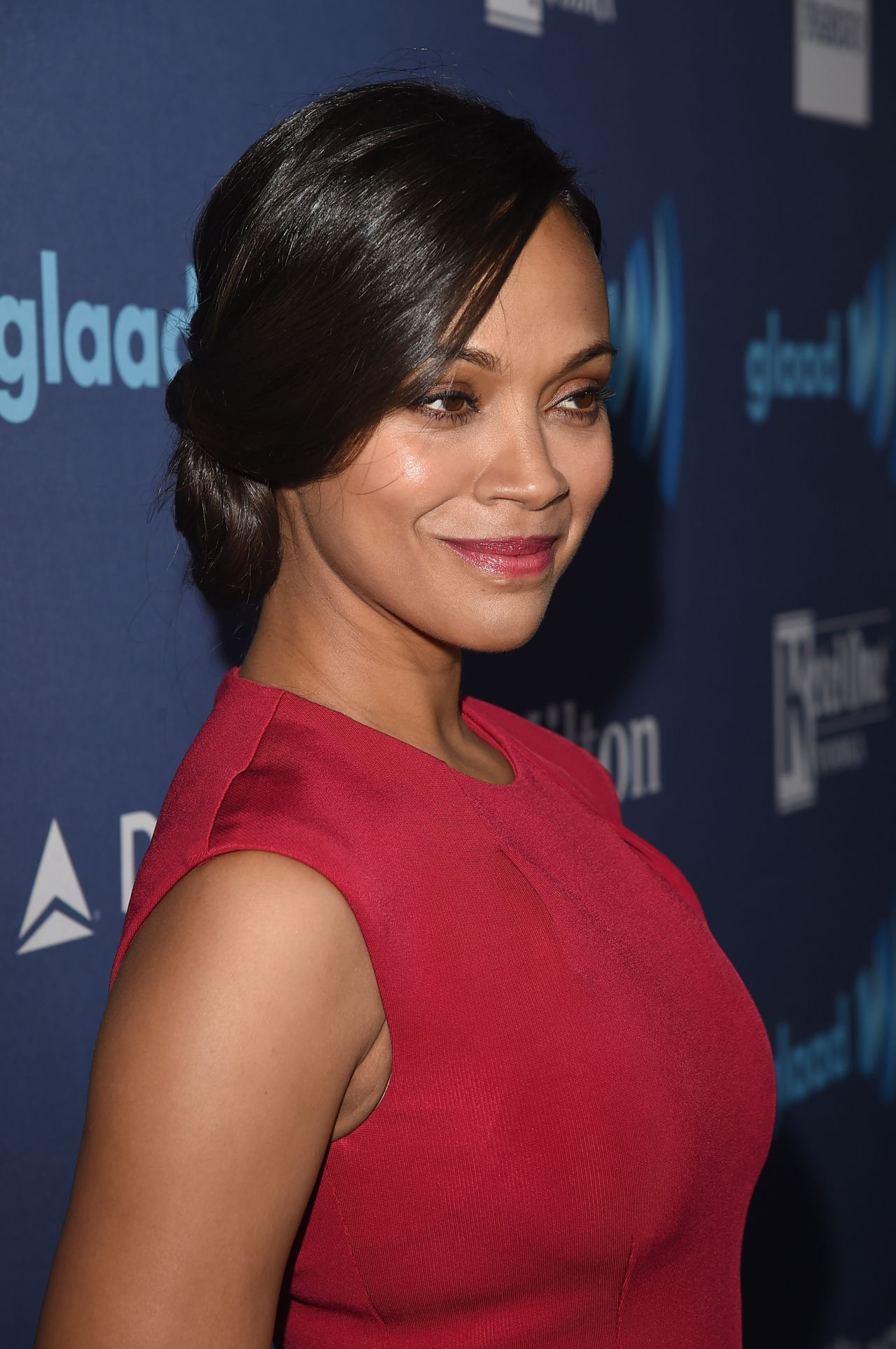 Zoe Saldana – 2015 GLAAD Media Awards in Beverly Hills Zoe Saldana