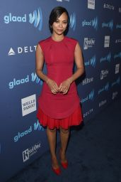 Zoe Saldana – 2015 GLAAD Media Awards in Beverly Hills