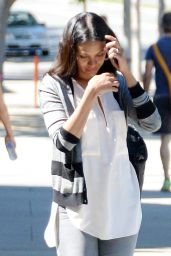 Zoe Saldana - Out in Los Angeles, March 2015