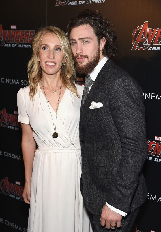 Aaron Taylor-Johnson – Avengers: Age of Ultron Screening in New York City
