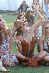 Alessandra Ambrosio – 2015 Coachella Music Festival, Day 2, Empire Polo Grounds, Indio
