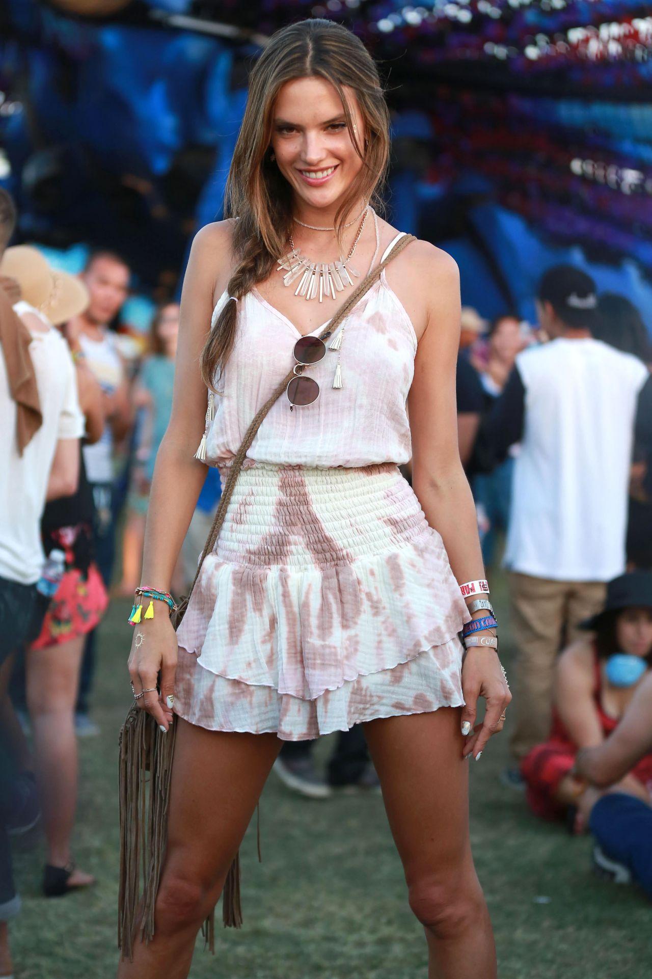 Alessandra Ambrosio – 2015 Coachella Music Festival, Day 3, Empire ...