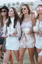 Alessandra Ambrosio – 2015 Coachella Music Festival, Day 3, Empire Polo Grounds, Indio
