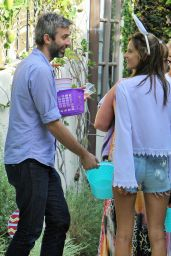 Alessandra Ambrosio at an Easter Party in Brentwood, April 2015