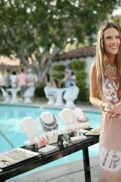 Alessandra Ambrosio - Launches Ale by Alessandra For BaubleBar Jewelry Collection in Palm Springs