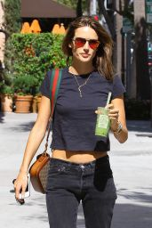 Alessandra Ambrosio - Out in Beverly Hills, April 2015