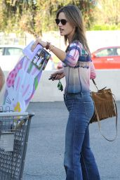 Alessandra Ambrosio - Out in Santa Monica, April 2015