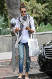 Alessandra Ambrosio - Out in West Hollywood, April 2015